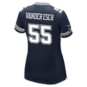 Dallas Cowboys Leighton Vander Esch #55 Nike Womens Navy Game Replica Jersey