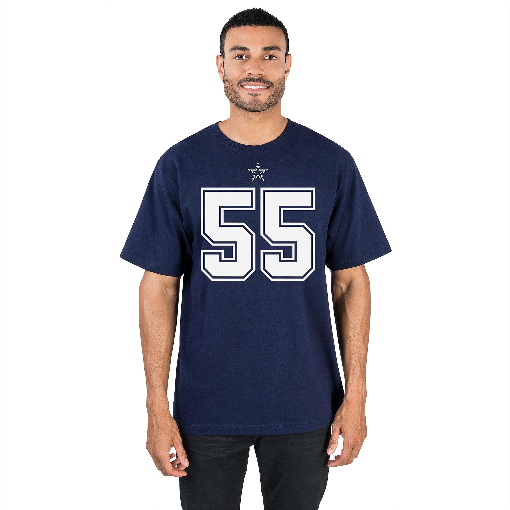 purchase cheap 9e12c 41ef2 Dallas Cowboys Leighton Vander Esch #55 Authentic Name ...