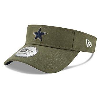 Dallas Cowboys New Era Salute to Service Visor