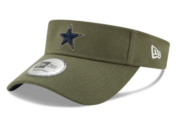 Dallas Cowboys New Era Salute to Service Visor
