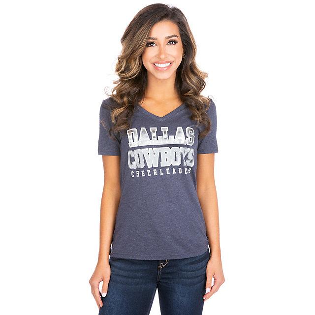 Dallas Cowboys Cheerleaders Paula Triblend Tee