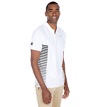Dallas Cowboys Nike Dry Golf Polo