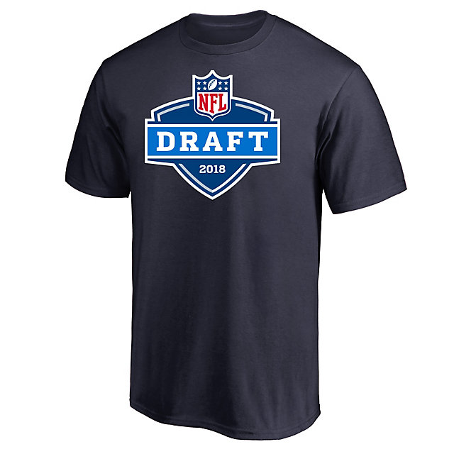 Dallas Cowboys Mens 2018 Draft Logo Short Sleeve Tee