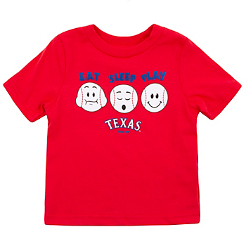 Texas Rangers Infant Eat Sleep Play Tee