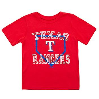 Texas Rangers Toddler Fan Base Short Sleeve Tee