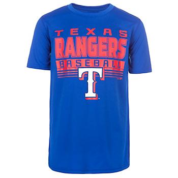 Texas Rangers Youth Digital Score Tee