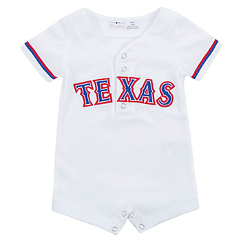 Texas Rangers Infant Home Replica Romper
