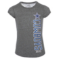 Dallas Cowboys Justice Scoop Vertical Cowboys Print Short Sleeve Tee