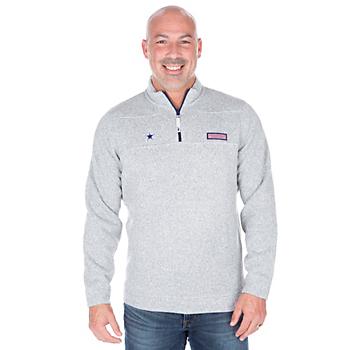 Dallas Cowboys Vineyard Vines Sweater Fleece Shep Shirt
