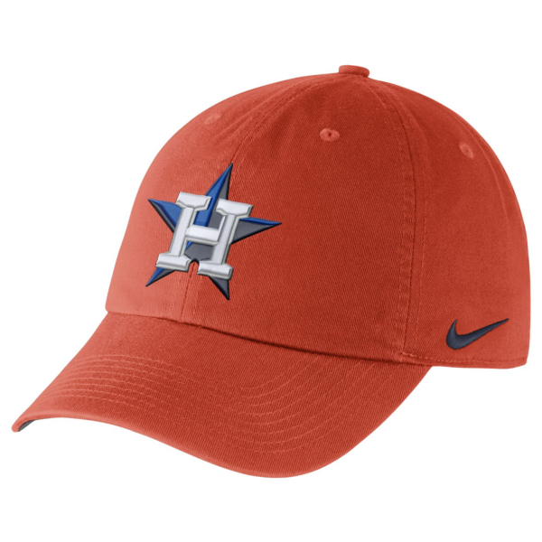 Houston Astros Nike Heritage 86 Dri-FIT Stadium Cap