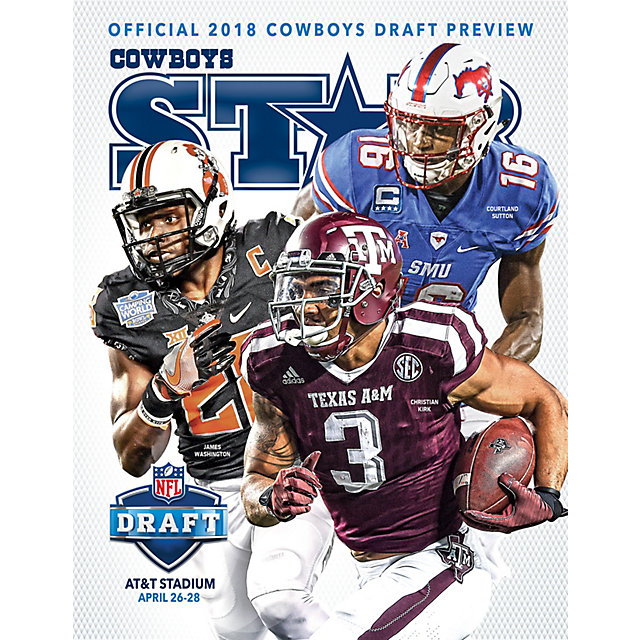 Dallas Cowboys Star Magazine Draft Preview 2018 Issue