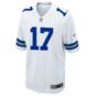 Dallas Cowboys Allen Hurns #17 Nike White Game Replica Jersey