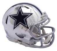 Dallas Cowboys Riddell Chrome Speed Mini Helmet