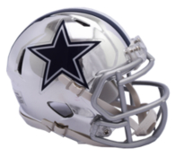 Dallas Cowboys Riddell Chrome Speed Mini Helmet