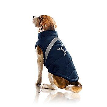 Dallas Cowboys Pet Puffer Vest