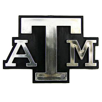 Texas A&M Aggies Chrome Auto Emblem