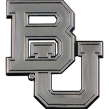 Baylor Bears Chrome Car Emblem