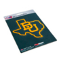 Baylor Bears State Shape Decal
