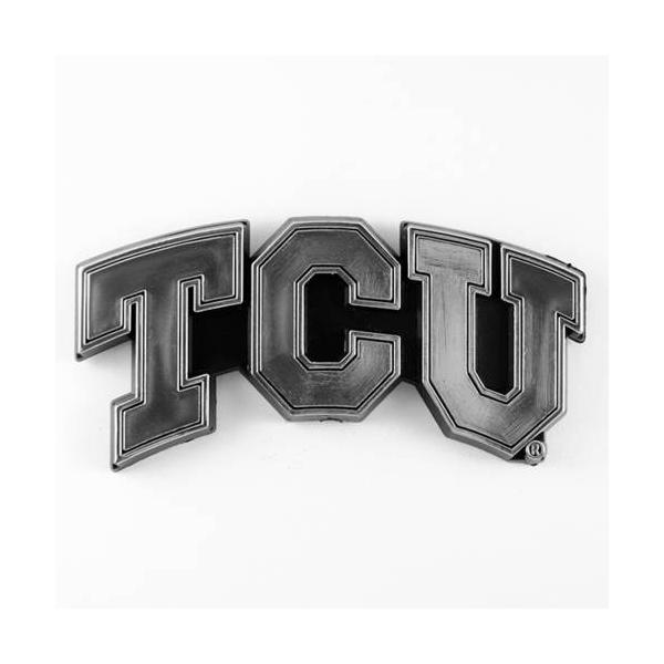 TCU Horned Frogs Chrome Auto Emblem