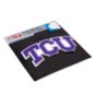 TCU Horned Frogs Color Aluminum Car Emblem