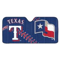 Texas Rangers Auto Sun Shade