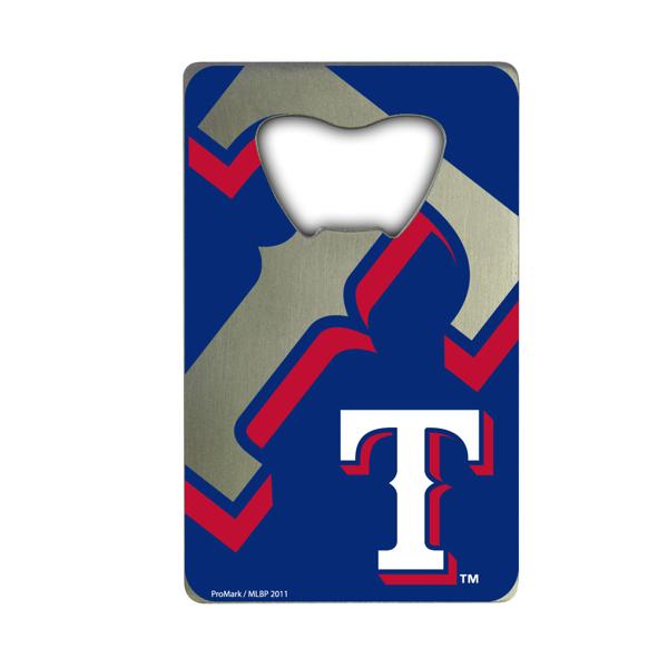 Texas Rangers Credit Card Style Bottle Opener