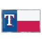 Texas Rangers State Flag Car Emblem