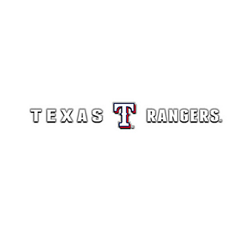 Texas Rangers Windshield Decal