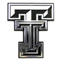 Texas Tech Red Raiders Chrome Car Emblem