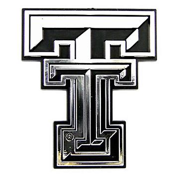 Texas Tech Red Raiders Chrome Car Emblem