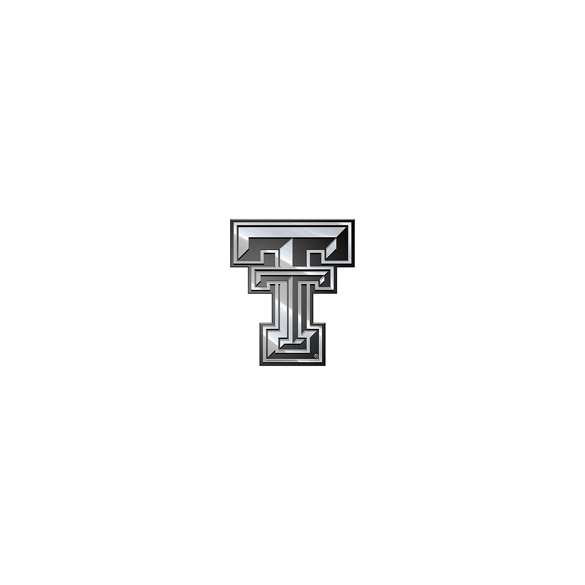 Texas Tech Red Raiders Premium Metal Emblem