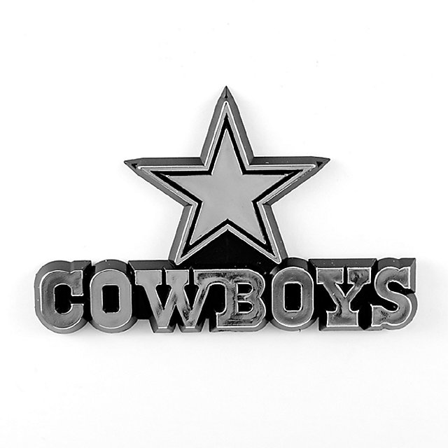 Dallas Cowboys Chrome Emblem