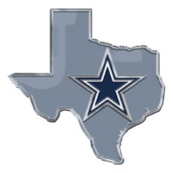 Dallas Cowboys State Shape Emblem