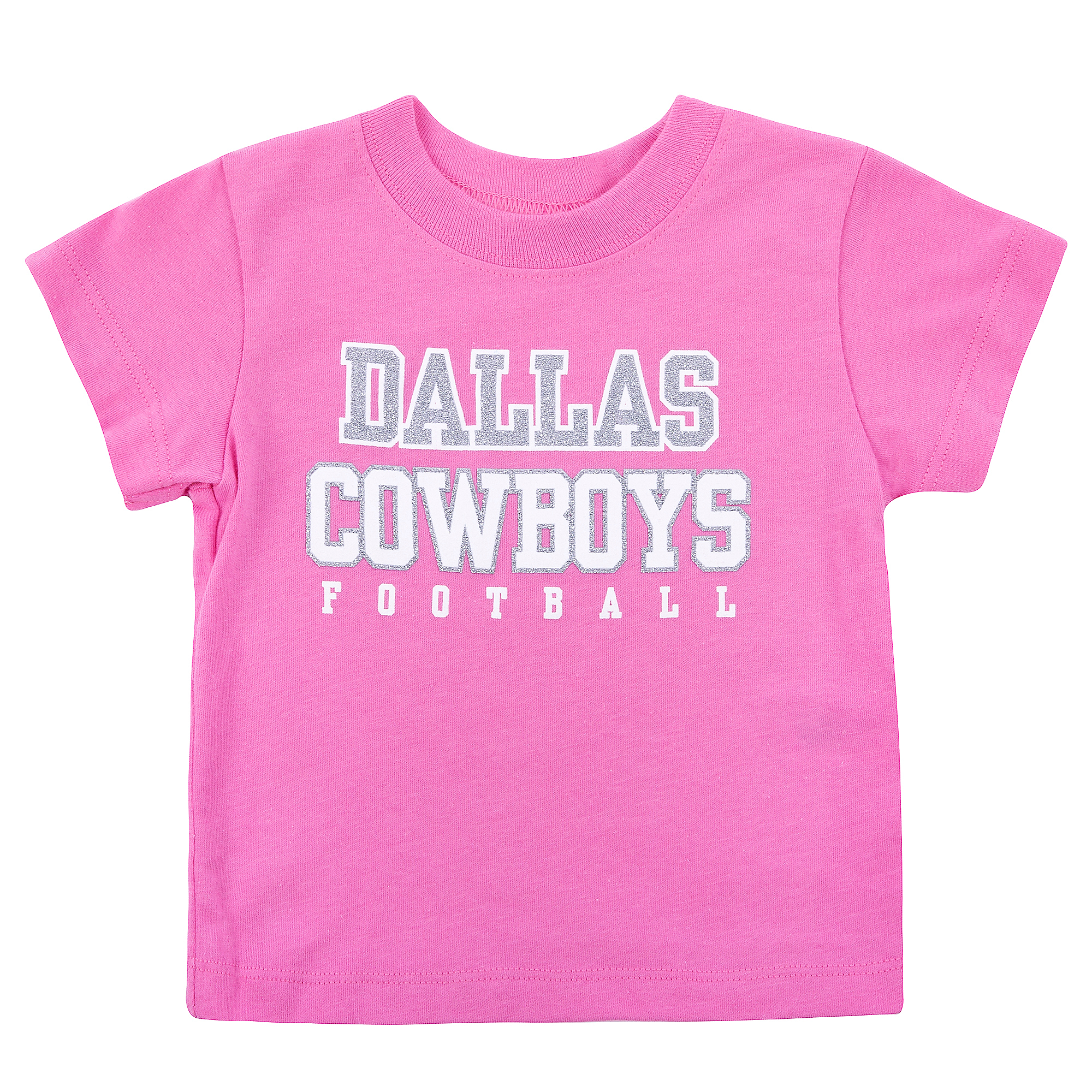 Dallas Cowboys Infant Practice Glitter Tee