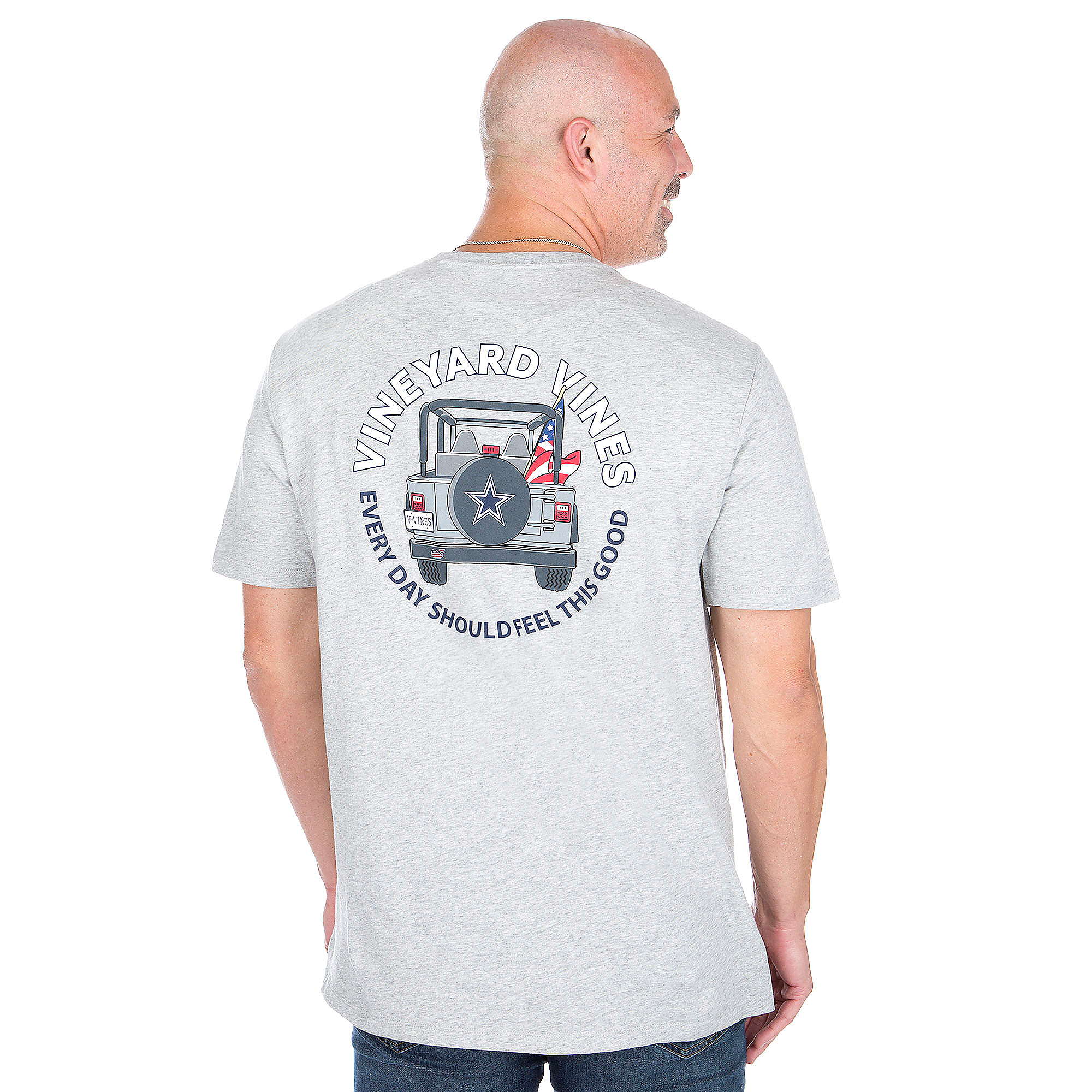 Dallas Cowboys Vineyard Vines Jeep Short Sleeve Tee