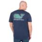 Dallas Cowboys Vineyard Vines Yardline Whale Short Sleeve Tee