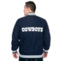 Dallas Cowboys Starter Wool Varsity Jacket