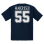 Dallas Cowboys Youth Leighton Vander Esch #55 Authentic Name & Number Tee