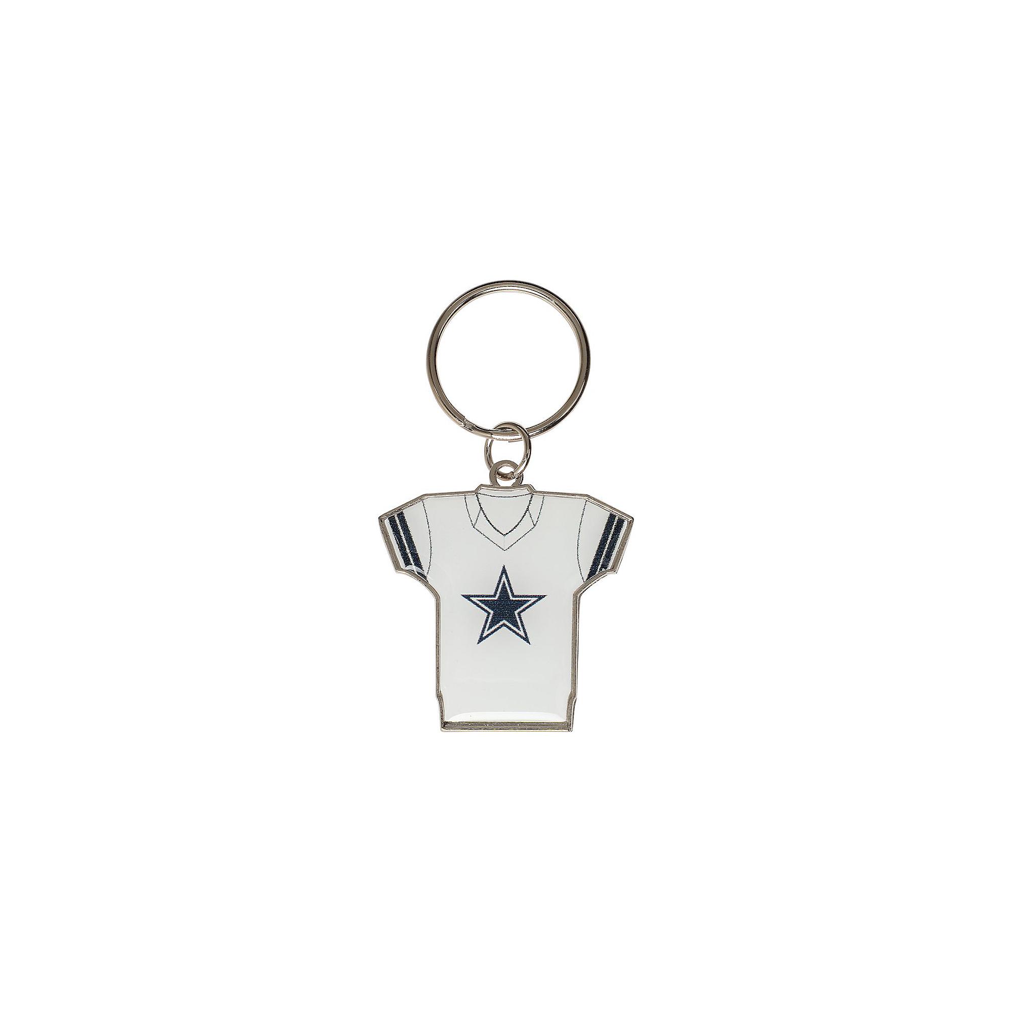 Dallas Cowboys Home & Away Jersey Keychain | Dallas Cowboys Pro Shop