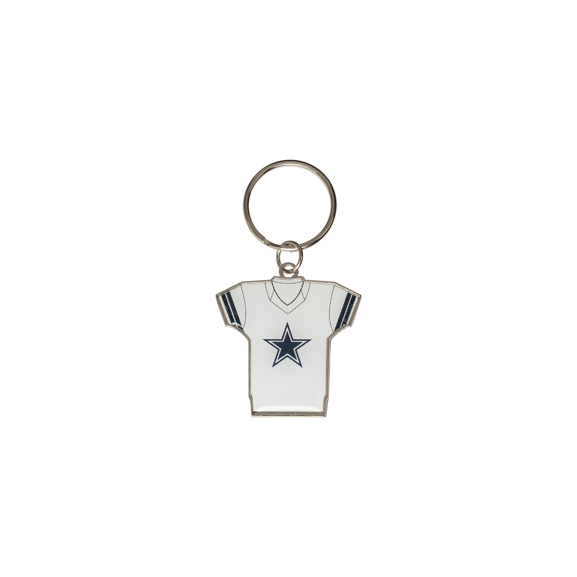 Dallas Cowboys Home & Away Jersey Keychain