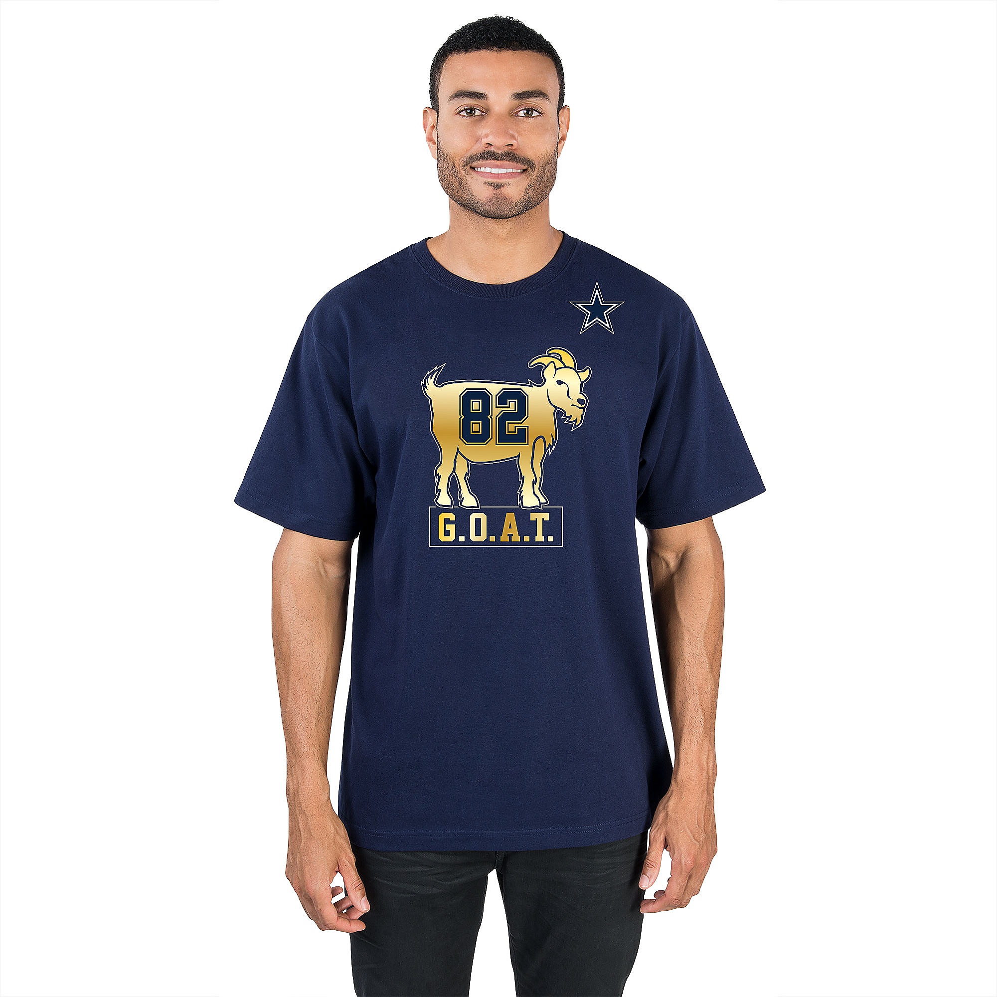 Dallas Cowboys Jason Witten G.O.A.T 82 Tee
