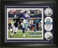 Dallas Cowboys Jason Witten 10,000 Yards Silver Coin Photo Mint
