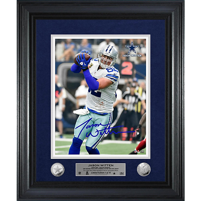 Dallas Cowboys Jason Witten Home Game Autograph Photo Mint