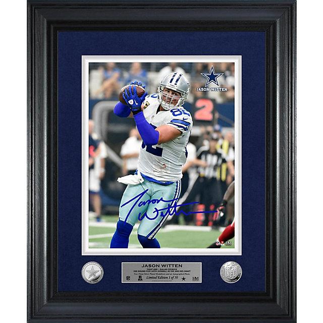 Dallas Cowboys Jason Witten Home Game Autograph Photo Mint