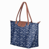 Dallas Cowboys Longchamp Print Tote