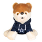 "Dallas Cowboys 8"" Seated Plush Dog"