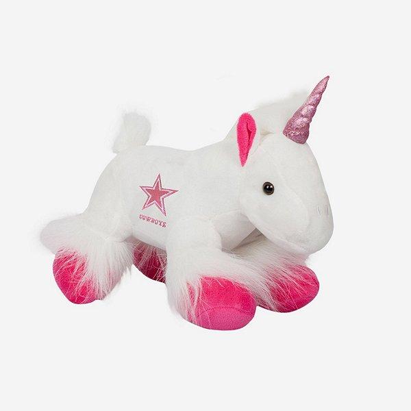 "Dallas Cowboys 9.5"" Plush Unicorn"