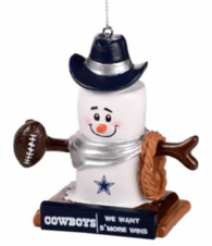 Dallas Cowboys S'mores Ornament
