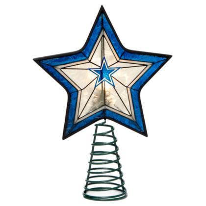 - Dallas Cowboys Star Tree Topper Dallas Cowboys Pro Shop
