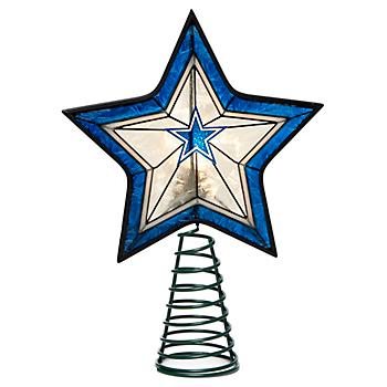 Dallas Cowboys Star Tree Topper